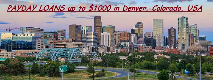 Payday Loans in Denver Colorado